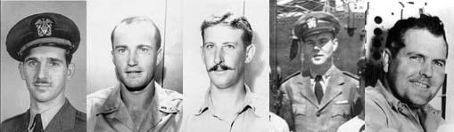 Shipmates of Lt.(jg) John G. Foster